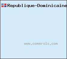 carte de République Dominicaine