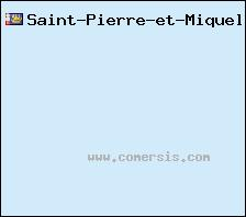 carte de Saint-Pierre-et-Miquelon